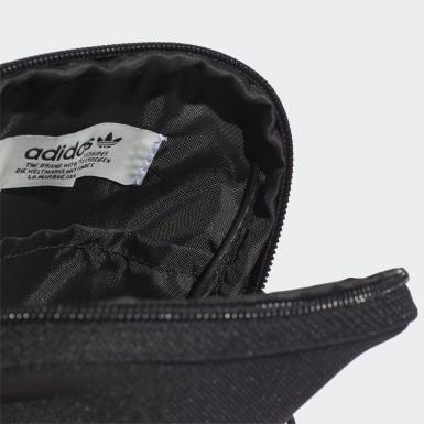Bolsa Adicolor Trifolio Grande Negro Originals