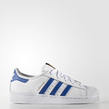 Tenis Superstar Foundation Blanco Niño Originals