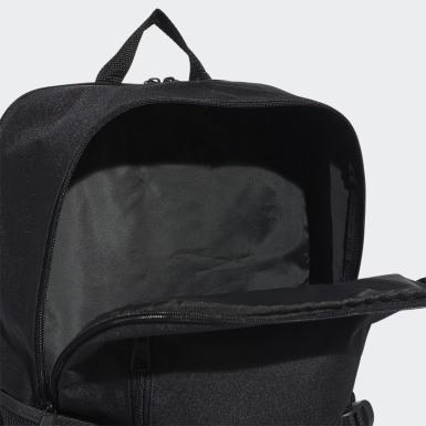 ไลฟ์สไตล์ สีดำ กระเป๋าเป้ทรงบ็อกซีคลาสสิก
