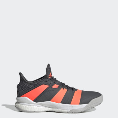 Squash Stabil X Schuh Grau