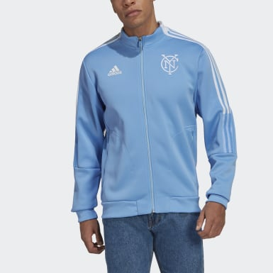 Men's Soccer Blue New York City FC Anthem Jacket