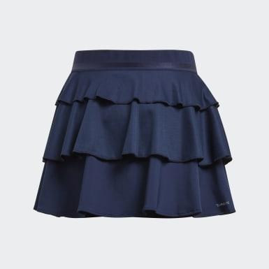 синий Юбка для тенниса Frill