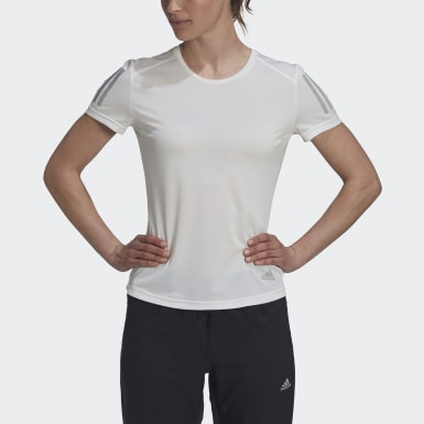 Remera Own the Run Blanco Mujer Running