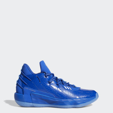 Basketball Blue Dame 7 x Ric Flair Shoes