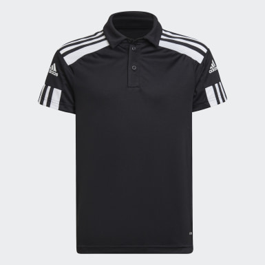 Kids Football Black Squadra 21 Polo Shirt