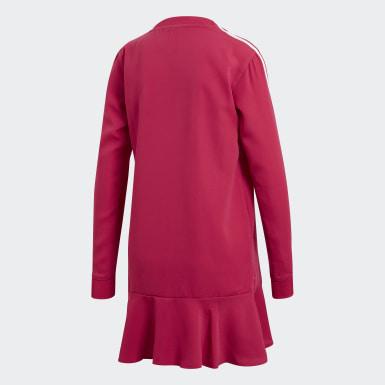 розовый Платье