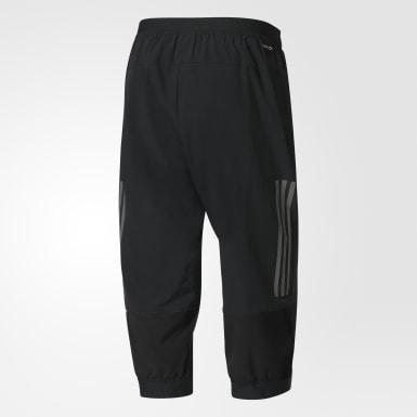 ผู้ชาย เทรนนิง สีดำ กางเกงออกกำลังกายขาสามส่วน Climacool