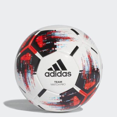 Fotboll Vit TEAM Matchboll