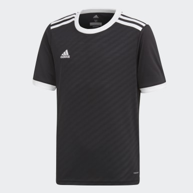 Kids Training Black Tiro Jersey