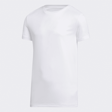 Youth Training White Tee