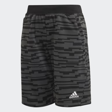 Shorts Knit Preto Meninos Training