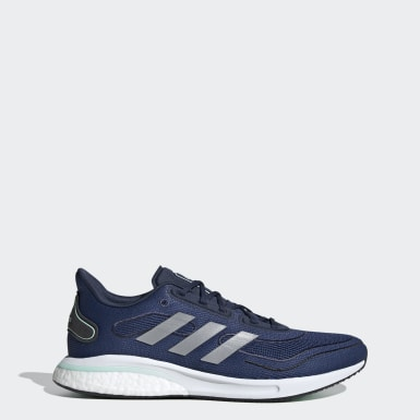 Running Blue Supernova Shoes