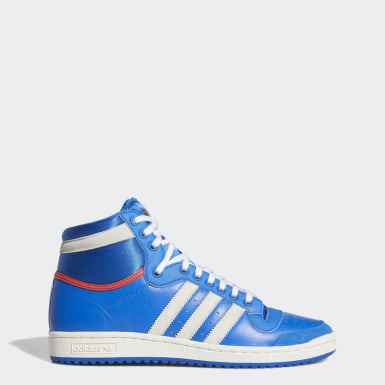 Chaussure Top Ten Hi Bleu Originals