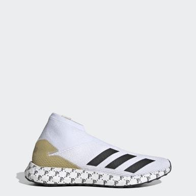Sapatos Predator 20.1 Paul Pogba Branco Futebol