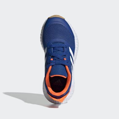 Sapatos FortaGym Azul Criança Running