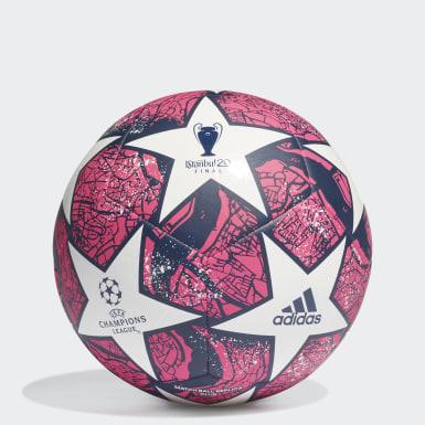 Fotbal bílá Míč UCL Finale Istanbul Club