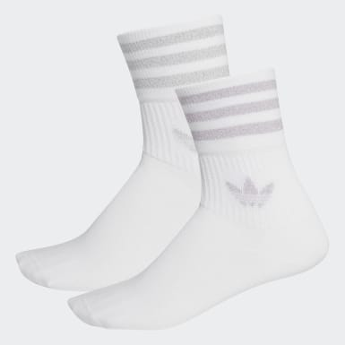 Ponožky Mid-Cut Glitter Crew