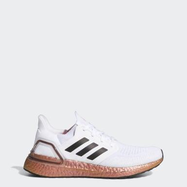 Chaussure Ultraboost 20 blanc Femmes Course
