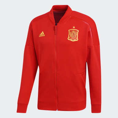 Men Football Red Spain adidas Z.N.E. Jacket