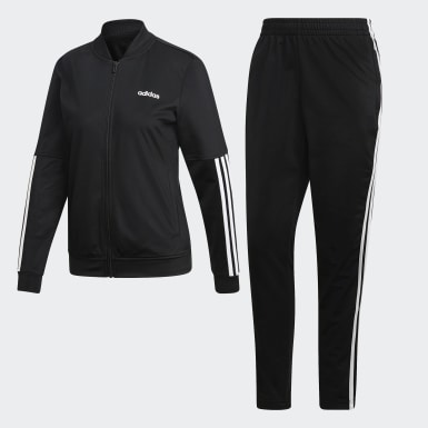 Pants Con Sudadera Wts Back2Bas 3 Stripes Negro Mujer Athletics