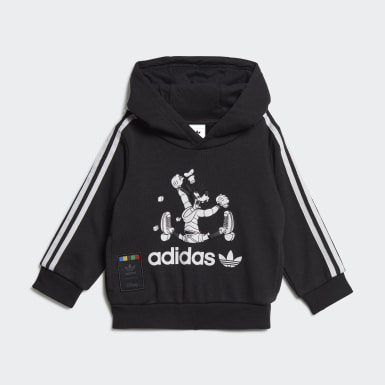 Infants Originals Black Sport Goofy Hoodie Set