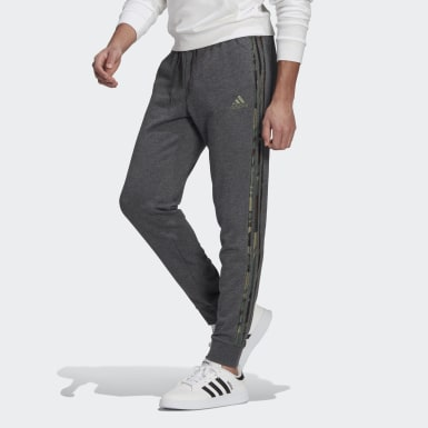 Pantaloni Essentials Camouflage Grigio Uomo Athletics