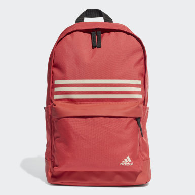 Mochila Classic 3 Tiras Pocket Rojo Training