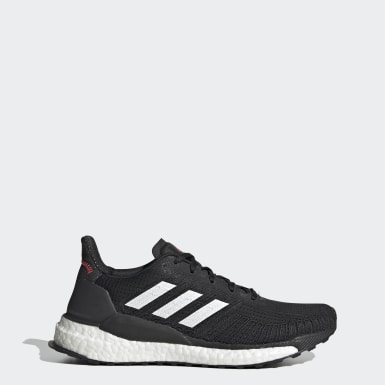Women Running Black Solarboost 19 Shoes