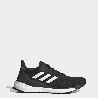 Kvinder Løb Sort Solarboost 19 sko
