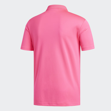 Muži Golf ružová Polokošeľa Performance