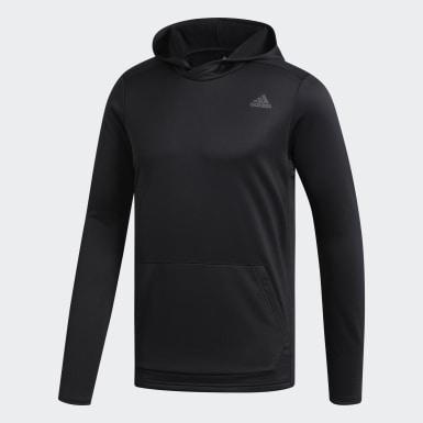 Compre a Blusa de Corrida com Capuz Preto Homem Running