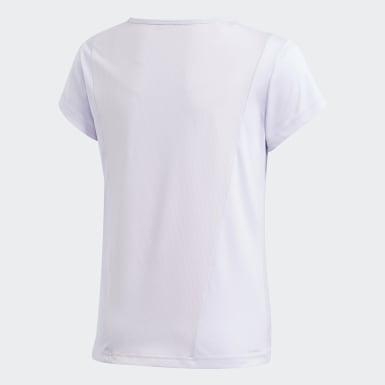Camiseta Cardio Morado Niño Training