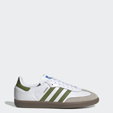 Men's Originals White Samba OG Shoes