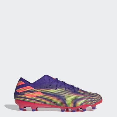 Futbal fialová Kopačky Nemeziz .1 Artificial Grass