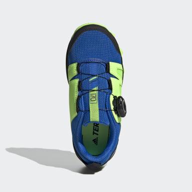 Kinderen TERREX Blauw Terrex Boa Hiking Schoenen