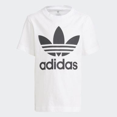Kinder Originals Adicolor Shorts und T-Shirt Set Weiß