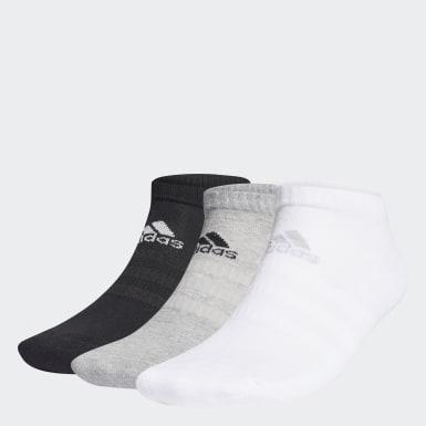 Training Grijs Gevoerde Korte Sokken 3 Paar