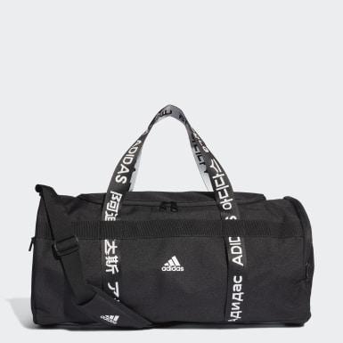 เทรนนิง สีดำ กระเป๋าดัฟเฟิลขนาดกลาง 4ATHLTS