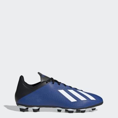 Botines X 19.4 Flexible Ground Azul Hombre Fútbol