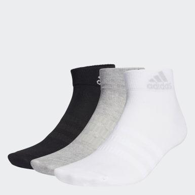 Trénink šedá Ponožky Ankle – 3 páry