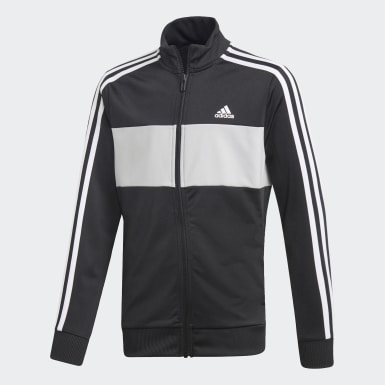 Boys Training Black Tiberio Tracksuit