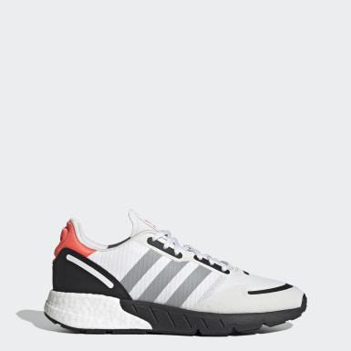Originals White ZX 1K Boost Shoes
