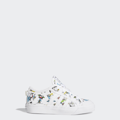 Kids 4-8 Years Originals White Nizza x Disney Sport Goofy Shoes