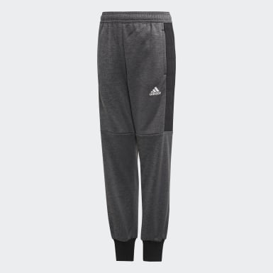 Youth 8-16 Years Training Black Warm Joggers