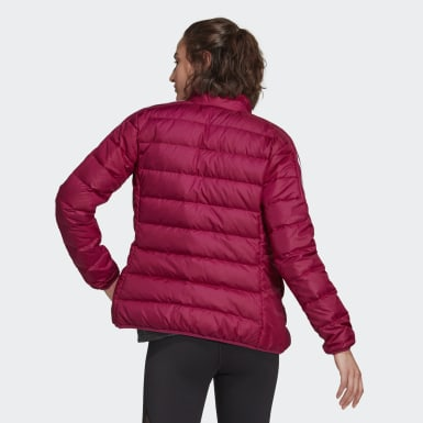 Women City Outdoor Burgundy Essentials Down Jacket