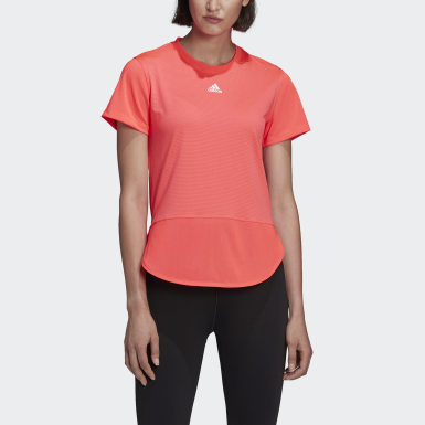 Women Running Pink AEROREADY Level 3 T-Shirt