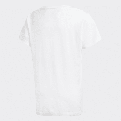 Youth Originals White Graphic Tee