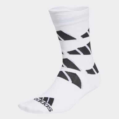Chaussettes Ultralight Allover Graphic Crew Performance Blanc TERREX