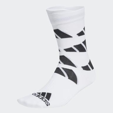 TERREX Hvid Ultralight Allover Graphic Crew Performance sokker