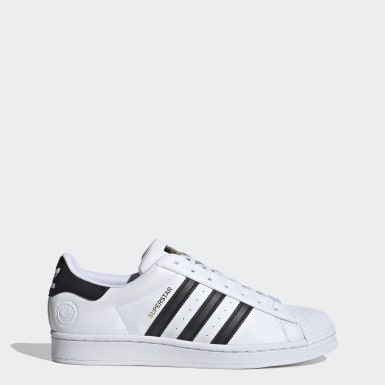 Men's Originals White Superstar Vegan Shoes